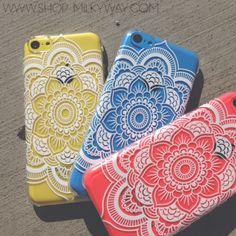 Iphone 5C Henna Case