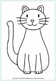 cat coloring - Google Search