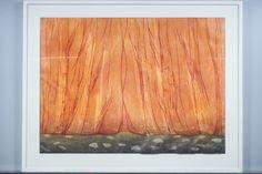 Outi Kirves: Esirippu, 1998, puupiirros, 72x97 cm, edition 7720 - Huutokauppa Helander 09/2015 Finland, Art, Art Background, Kunst, Performing Arts, Art Education Resources, Artworks