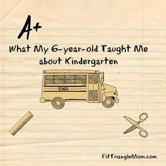 what my 6-year-old taught me about kindergarten. Kindergarten is not all fun and games, it's tough and you and your child should be prepared. (scheduled via http://www.tailwindapp.com?utm_source=pinterest&utm_medium=twpin&utm_content=post98521605&utm_campaign=scheduler_attribution)