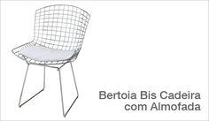 Bertoia+Almofada  Harry Bertoia