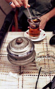 çay! Tea in Turkey...