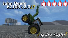 Review John Deere 6210R #FS15 v2.0