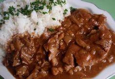 Dušené vepřové maso s hlívou Beef, Cooking, Recipes, Meat, Kitchen, Ripped Recipes, Brewing, Cuisine