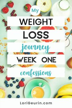 Do you want to lose weight? This is my weight loss journey week 1, including juicy confessions, meal plan ideas and weight loss tips.  #weightloss #loseweight