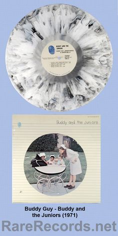 """Buddy Guy, Junior Mance and Junior Wells, aka """"Buddy and the Juniors"""" (Blue Thumb, You see the Dave Mason LP on multicolored vinyl from time to time, but this one's much harder to find."""