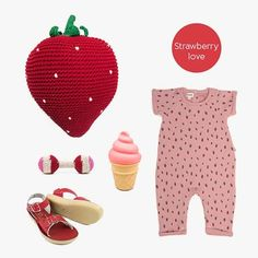 Strawberry Love Baby Online, Kind Mode, Kids Fashion, Strawberry, Room Decor, Rompers, Shopping, Clothes, Outfits