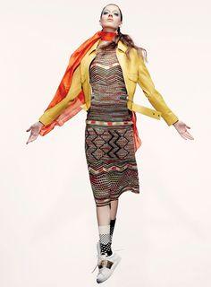 Josephine van Delden by Robbie Fimmano for Vogue Australia January 2015