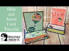 Slide and Stand Card Tutorial - YouTube