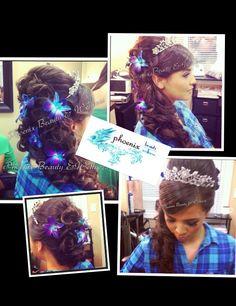 elegant Quinceanera hairdo :)