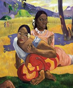 by Paul Gauguin in oil on canvas, done in . Now in a private collection. Find a fine art print of this Paul Gauguin painting. Paul Gauguin, Henri Matisse, Most Expensive Painting, Expensive Art, Painting Prints, Art Prints, Oil Paintings, Hall Painting, Canvas Prints