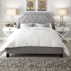 Image result for king bedroom gray