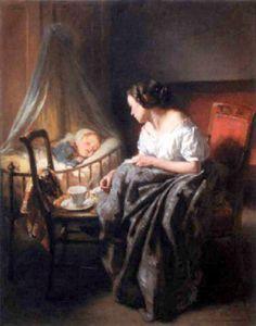 Nicolas François Octave Tassaert (1800 – 1874, French)