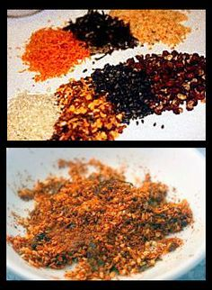 Japanese 7-Spice Blend (Shichimi Togarashi) I love this stuff - put it on almost everything! Bad photo - but just try it!