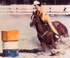 A Good Look at the First Barrel-Martha Josey barrel racing tips Barrel Racing Tips, Barrel Racing Saddles, Barrel Racing Horses, Barrel Horse, Reining Horses, Breyer Horses, Rodeo Events, Western Pleasure Horses, Horse Exercises