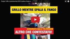 Immagini inedite di Beppe Grillo mentre spala il fango a Genova. I media di non te lo faranno MAI vedere in TELEVISIONE - DIFFONDETE QUESTO FILMATO!