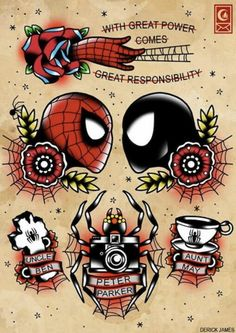 Really considering a Spidey tattoo...