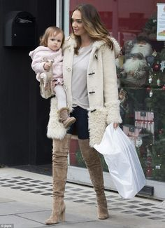 Kinky boots! Tamara Ecclestone proved that she isn't wasteful with her money, recycling he...