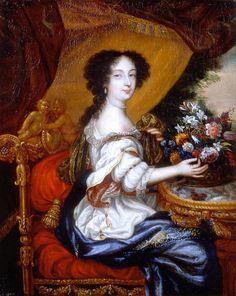 1670s - Barbara Villiers, Duchess of Cleveland by Henri Gascar mod