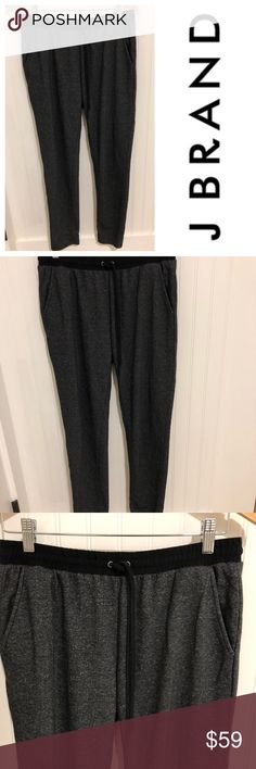 J Brand gray wool knit jogger trouser pants S Size small. Lightweight wool blend. Worn a few times. In excellent condition. See my closet for more great deals on designer clothing, shoes, and assessories. 15% off a bundle of three or more items. J Brand Pants Skinny