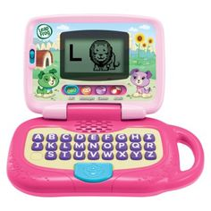 For my granddaughter.   LeapFrog My Own Leaptop - Violet