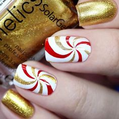 Popular Festive Christmas Nail Art Design Ideas These trendy Nails ideas would gain you amazing compliments. Check out our gallery for more ideas these are trendy this year. Elegant Nail Designs, Elegant Nails, Cool Nail Designs, Classy Nails, Xmas Nails, Holiday Nails, Christmas Nails, Holiday Mood, Holiday Dinner
