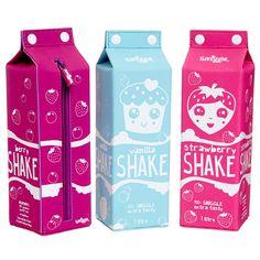 Milk Carton Shakes Pencil Case