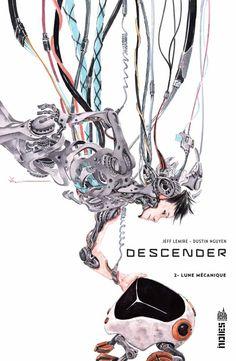 Lemire & Nguyen : Descender Tome 2, Lune Mécanique - Ed. Indies comics