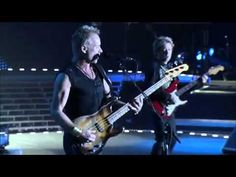The Police Walking on The Moon HD) - YouTube