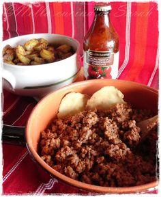 Pancakes a colazione...: Chili con carne, patate alla paprika e tortilla chips