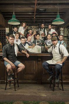 Group Portrait The Baxter Inn