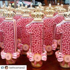 Princesa Realeza: Lindas ideias de lembrancinhas – Inspire sua Festa ®