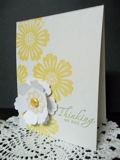 Make birthday cards for the entire year.  Keep them organized and ready to go in a binder with folder pockets.