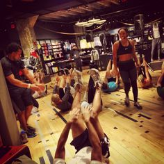 Nike Training Club at Georgetown store