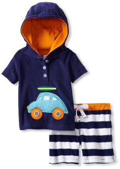 Mud Pie BabyBoys Newborn Terry Pullover Knit Shorts Set Multi 69 Months ** Details can be found by clicking on the image.Note:It is affiliate link to Amazon. #BoyClothing