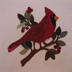 Cardinal Bird Pattern Free | Name: ThimbleOct09SwapBlock001_edited (Small).JPGViews: 2659Size: 40.0 ...