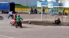 News Curiose: Il Motoball: calcio giocato… in sella ad una moto