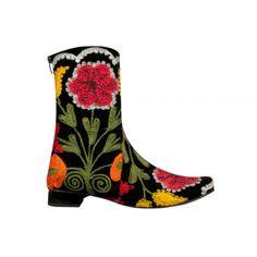 Suzani Short Gypsy Boots