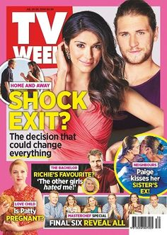 #TVWeek #magazines #covers #July #2016 #TV #guide #television #entertainment #HomeandAway #TheBachelor #LoveChild #Masterchef
