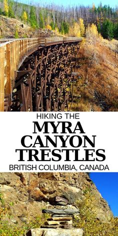 Hiking the Myra Canyon trestles is a must do experience while in the Kelowna area! Here's more about our hiking experience + everything you need to know about hiking the Myra Canyon Trestles in the Okanagan Valley, British Columbia British Columbia, Columbia Travel, Canada Winter, Canada Canada, Winter Snow, Visit Canada, Places To Travel, Places To Visit, Viajes