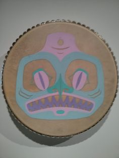 Gabbie would like the pastels and the unexpected take on something traditional.  Found at the UBC Museum of Anthropology