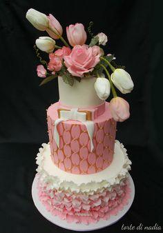 First Communion  Cake by tortedinadia