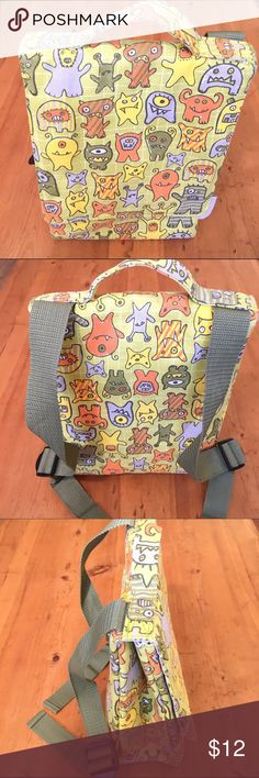 Sugar Boogie Activity Pack Great lightly used condition has one side zipper pocket interior outside Velcro clousure backpack adjustable 13 in long 8in wide  straps very cute 💕 Sugar Boogie Accessories Bags