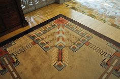 Mission Style Area Rugs | and mission-style décor is repeated in the carpeting and area rugs ...