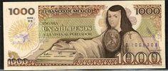Sor Juana Inés de la Cruz is on the mexican money