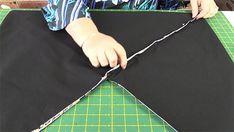 Origami Bag Tutorial: Easy to Make Market Tote Bag - Alanda Craft