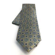 Men's Accessories Cufflinks & Handkerchief Set Gift Mens Carlo Bruno 100% Silk Purple Pattern Tie