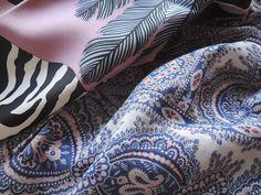 MaiTai's Picture Book: Zebra Pegasus with printed cotton blouse