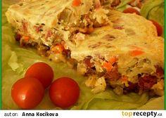 Šťavnaté zapékané těstoviny v MT Quiche, Microwave, Tacos, Eggs, Breakfast, Ethnic Recipes, Food, Morning Coffee, Essen