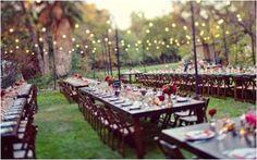 mesa rectangular banquete bodas
